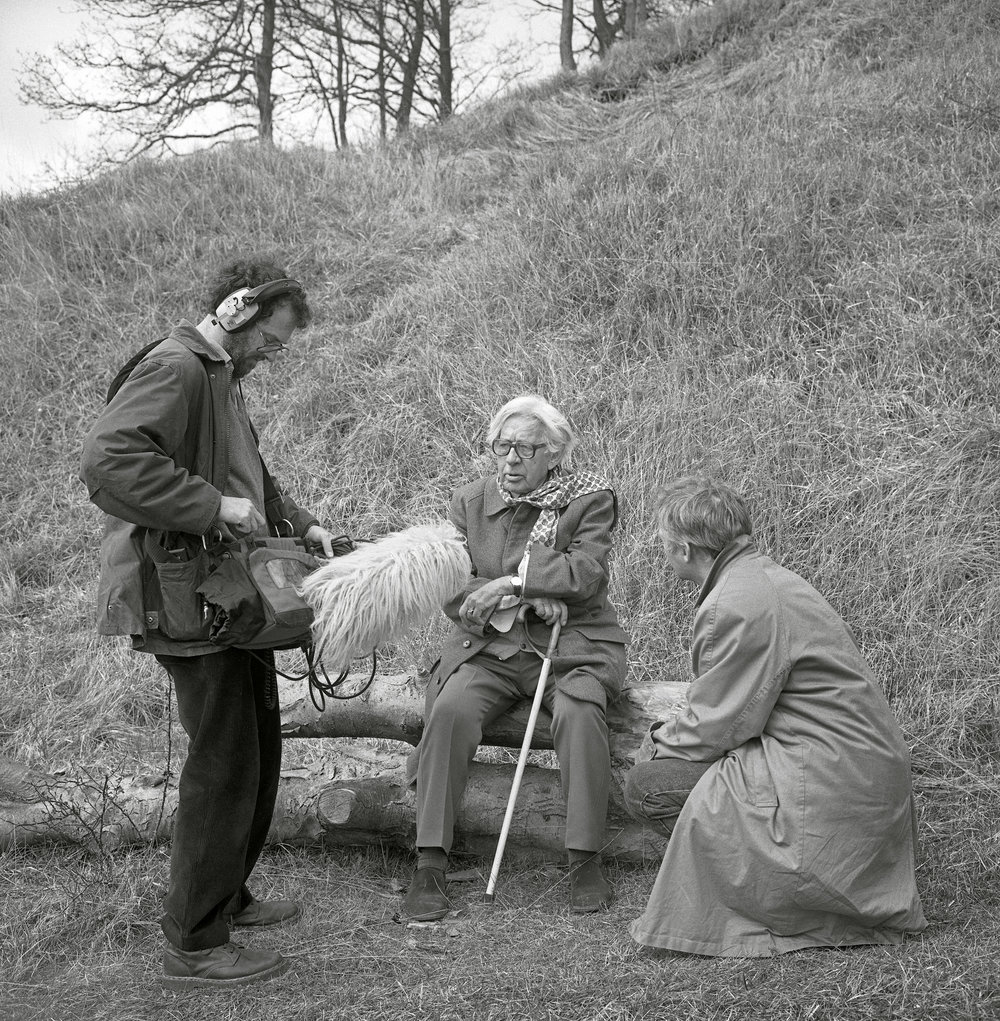 Bob Pitt, Laurie Lee and David Parker © Chris Chapman 1994.jpg