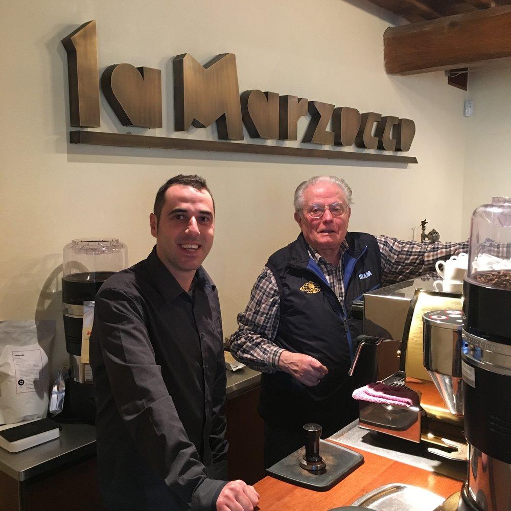Fabrizio Rinaldi e Piero Bambi