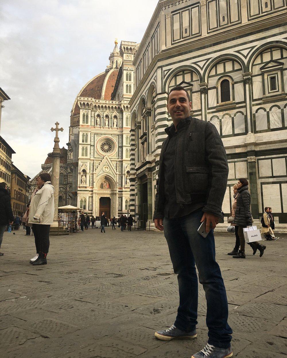 Fabrizio Rinaldi Piazza del Duomo di Firenze