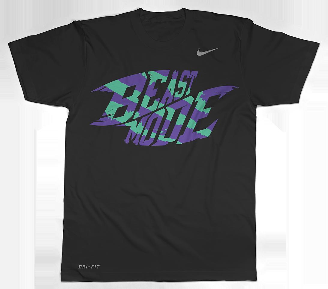 8ead36c42482 Women s  Beast Mode  Nike Dri Fit T-Shirt (Black) — Thrilla Nation