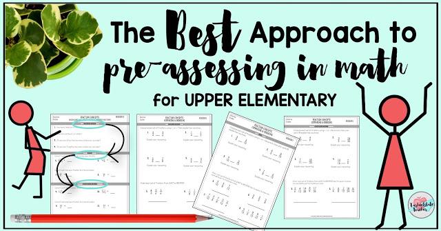 Different Approaches to Pre-Assessment in Math — Tarheelstate Teacher
