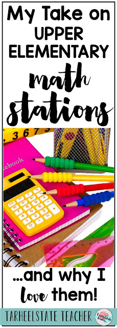 Looking for ideas to implement into your upper elementary math stations or guided math centers? Well, you will want to read my tips and ideas for math stations and why I love them before you dive in. Your 3rd, 4th, 5th, or 6th grade students are ready for this framework for math learning--and you can be too when you find out why I love math stations and how I schedule them into my teaching plans.