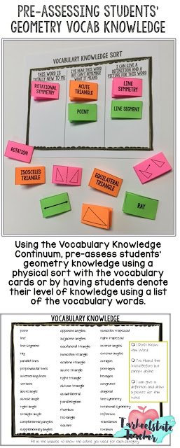 Need some ideas for making mastering geometry vocabulary more fun? Check out four games I play with my students! Flash cards and study ideas included! Your 3rd, 4th, 5th, and 6th grade classroom or home school students are going to LOVE the different activities they can play, and you're going to love that the games teach necessary geometric skills. Great for test prep, review, and much more {third, fourth, fifth, sixth graders - math stations or centers}