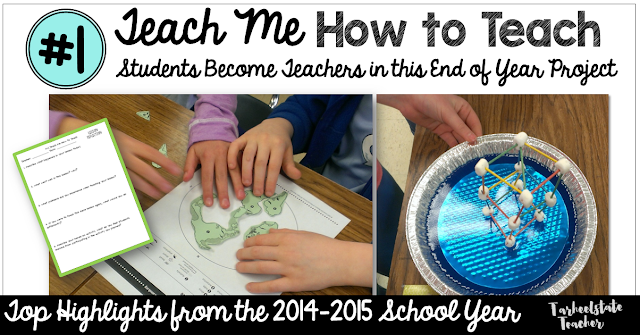 students teach the class in this end of year