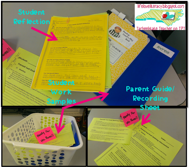 Student Led Report Card Conferences can be extremely successful and rewarding, not to mention,  huge learning experience for your students. Read all about how I have implemented these goal setting and reflection sessions with 4th and 5th graders! {Ideas, forms, tips, and reflection sheets that work like a script for students}