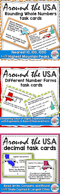 Real World Math Task Cards Number and Operations in Base 10