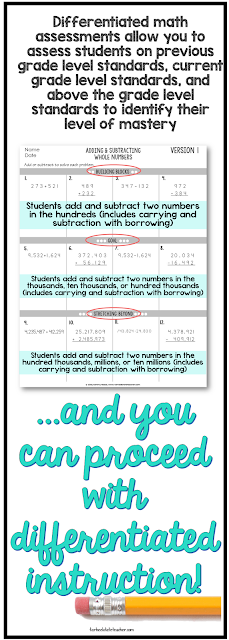 differentiated math resources