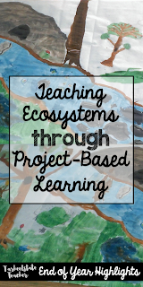 Ecosystems Biomes Animal Research Projects with Ecosystems Museum Project Based learning; take your animal research for the upper elementary 4th 5th grade to another level! Hands on Science projects with arts integration