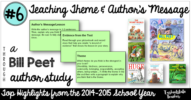 Your upper elementary students are going to love participating in this picture book author study featuring Bill Peet. Click through for a FREE Google Drive download, picture book ideas, ideas, and tips from a teacher who taught numerous reading strategies while asking her students to complete the author study. The best part? You can differentiate it to meet the needs of your 2nd, 3rd, 4th, 5th, or 6th grade classroom or homeschool students. And it covers a lot of standards too!