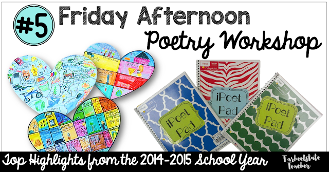 Learn the benefits of poetry workshop in your upper elementary classroom & how you can make it work. Great to integrate reading and writing into each day. This teacher gives examples to use, resources to try, great examples, and more! Click through to see if you can make this work with your 3rd, 4th, 5th, or 6th grade classroom or homeschool students. Make your poem unit last the entire year. {third, fourth, fifth, or sixth grader}