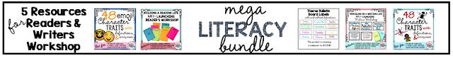 4th 5th grade mega literacy bundle common core