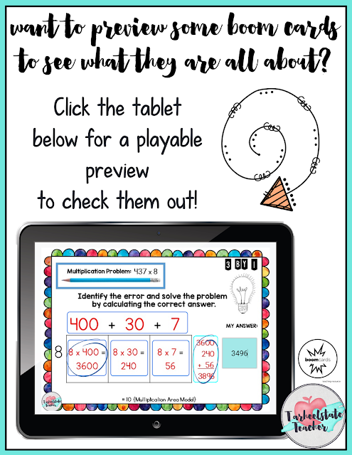 Try BOOM LEARNING DIGITAL TASK CARDS free with this preview link!