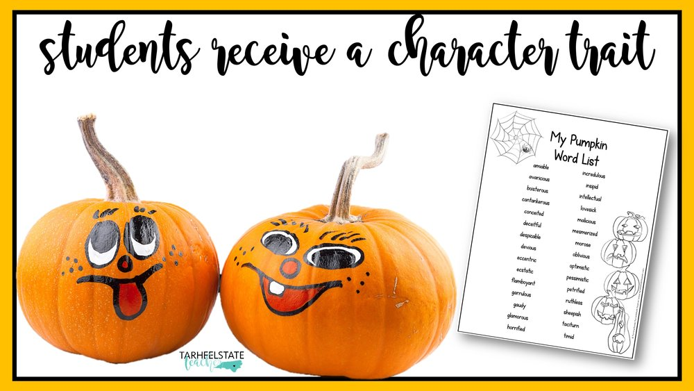 Pumpkin Creative Writing Project - Perfect for Fall or Halloween ...