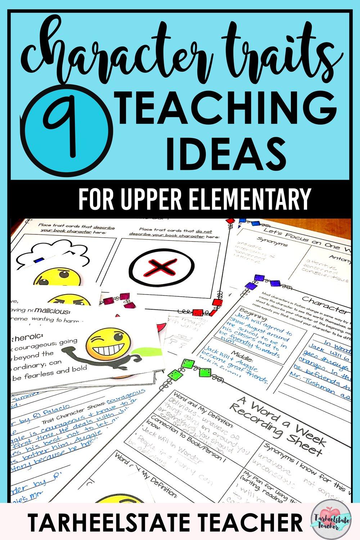A Lesson Fail and 9 Ideas for Character Traits — Tarheelstate Teacher