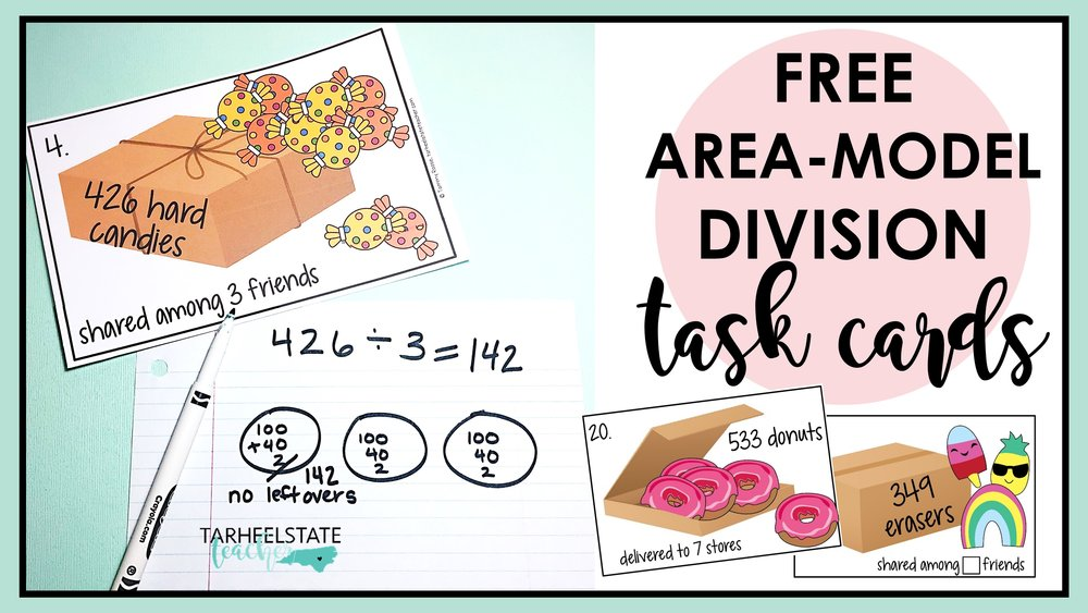 area model division free task cards.jpg