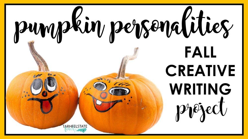 pumpkin personalities writing project.JPG