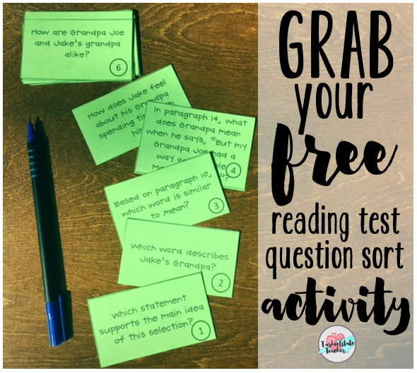free question sorting activity for reading test prep.PNG