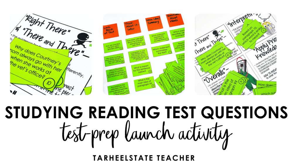Sorting Reading Questions Launching Your Reading Test Prep