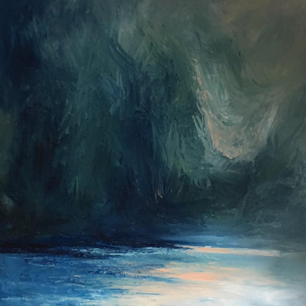 Oil on Canvas  100 x 100 cm