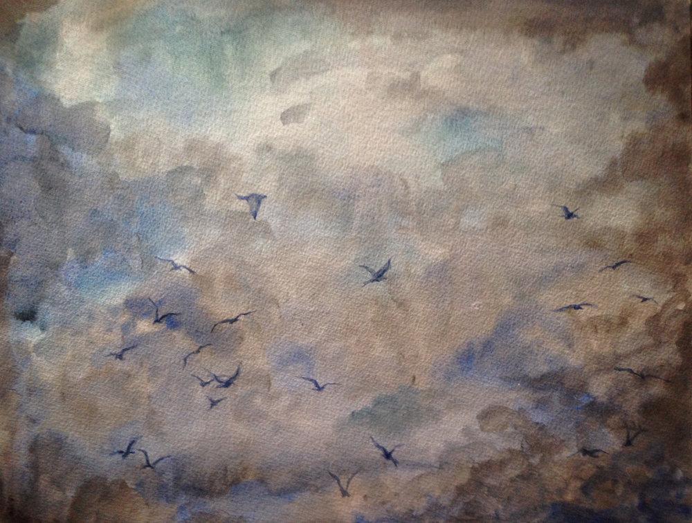 Watercolor   30 x 42 cm