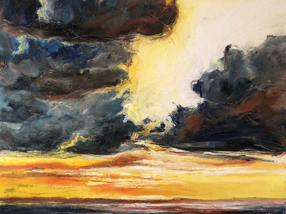 Oil on Canvas  120 x 150 cm
