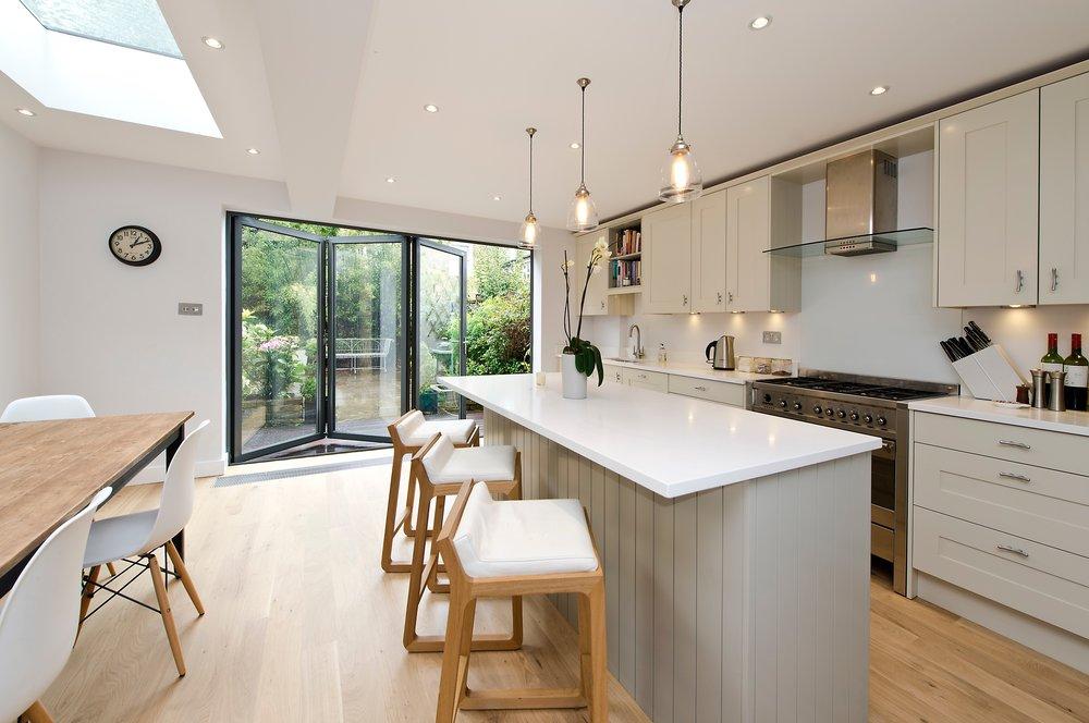 Bespoke Kitchen Extension, Chiswick, London W4
