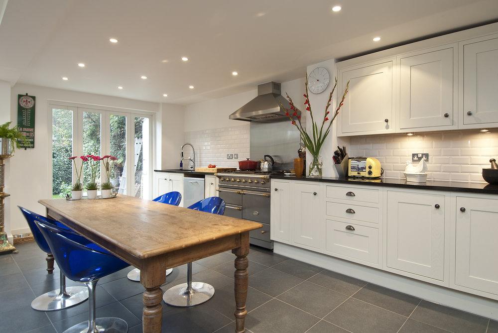 Farmhouse  Kitchen, Hammersmith, The Kitchen and Loft Company.