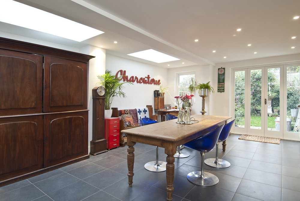 Kitchen Extension , W6, by The Kitchen and Loft Company.