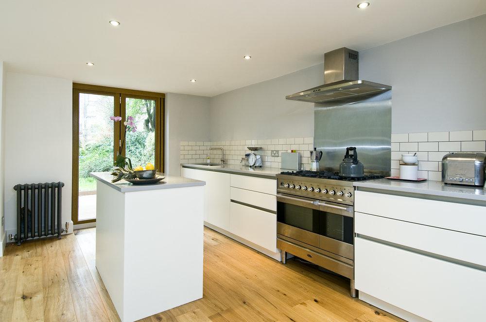 Kitchen Extension, Shepherd's Bush, The Kitchen and Loft Company