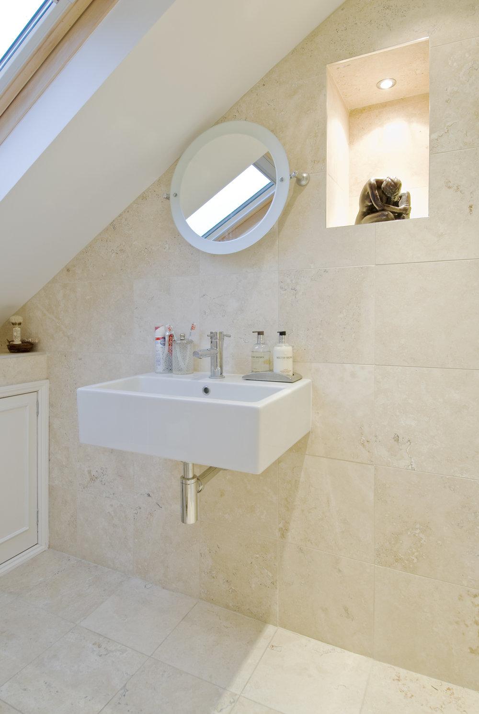 Loft Bathroom conversion, W14, The Kitchen and Loft Company.