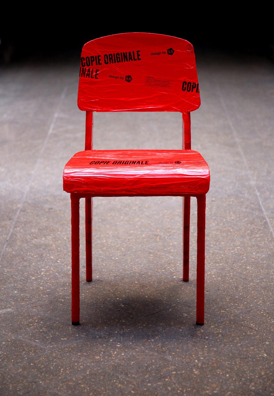Chaise standard _ Copie Originale Jean Prouvé _ 5.5 _ 2017