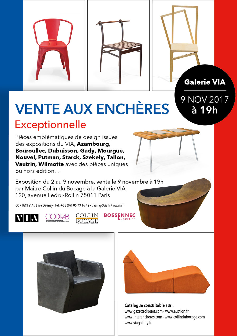 expositions galerie le french designvia — le french designvia