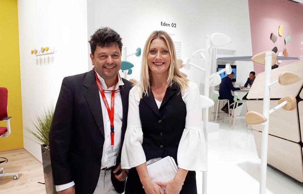 Bruno Houssin et Nathalie Ménardais, directrice marketing chez SOKOA