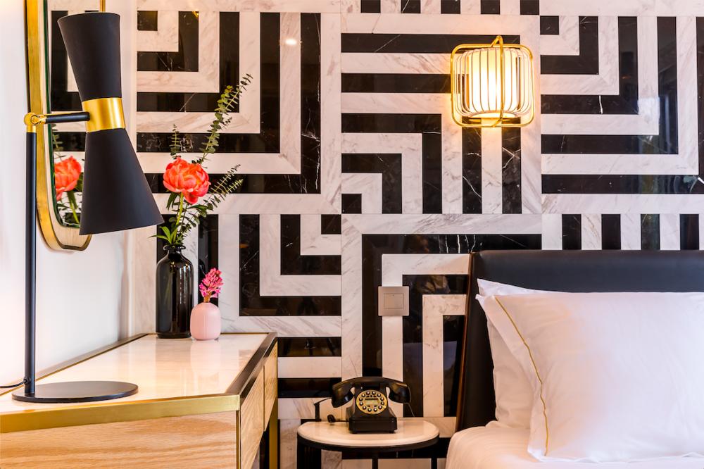 EL'LE , Art Deco Paris Hotel @Maxime Ledieu