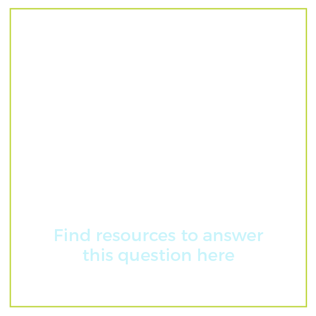 "Graphic of a question mark with text below it that says ""I have a student interested in a career. What are my next steps? Find resources to answer this question here"""