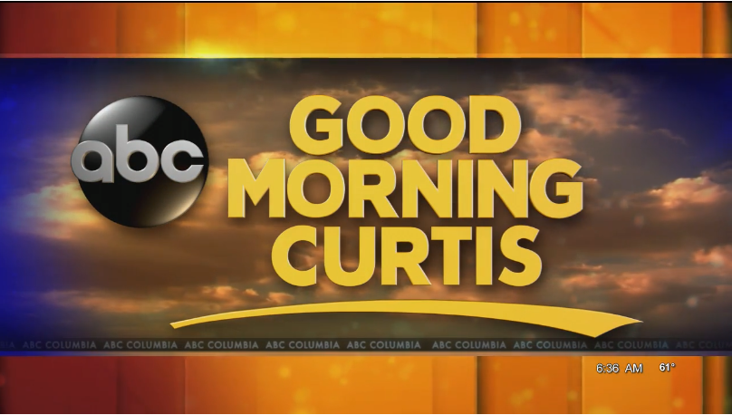 Screenshot of Good Morning Columbia segment