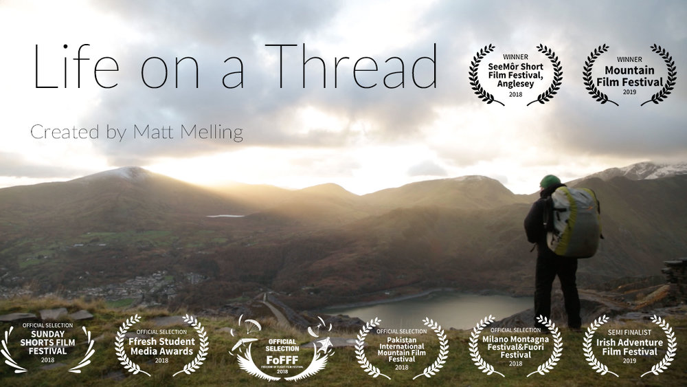 Life on a Thread - Life on a Thread follows paraglider Brad Nicholas as he flies above the mountainous landscape of North Wales.
