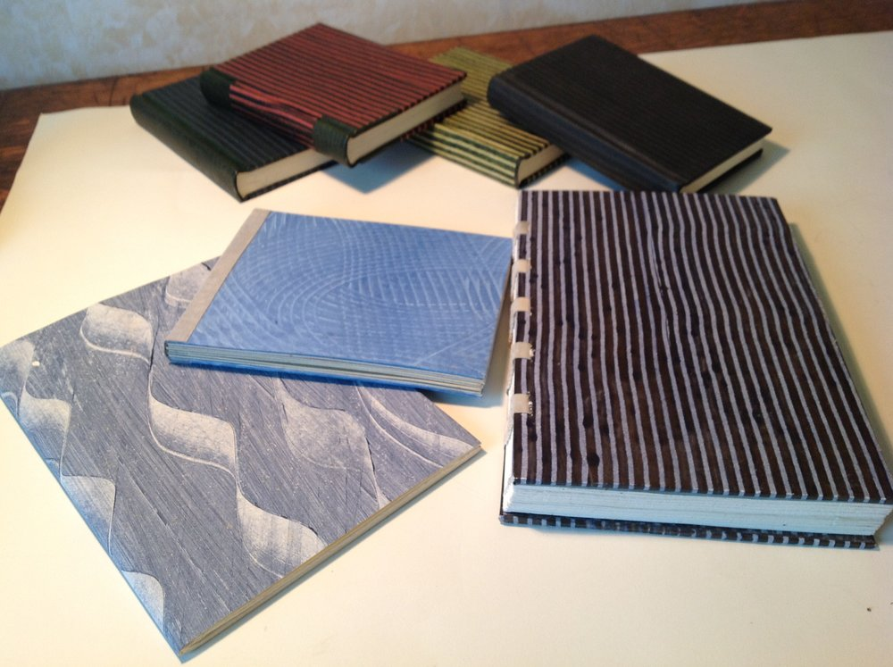 More bookbinding projects.