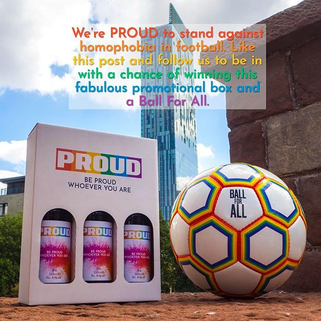 We're super excited to have teamed up with @proudbeeruk to giveaway the ultimate World Cup prize! Head over to @proudbeeruk to be in with a chance of winning. 🦁🦁🦁 #ballforall #proudbeer #worldcup #pride
