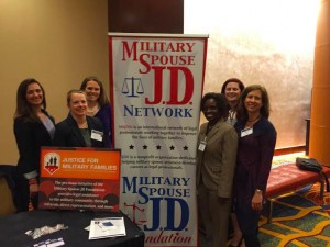 Amy with members of MSJD Network