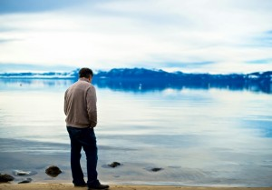 Freedman on the shores of Lake Tahoe (Photo credit: Zoila Albarinia)