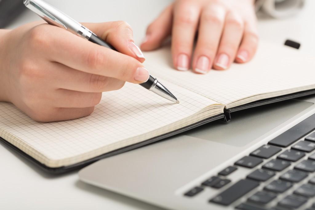 Writer, red, pen.