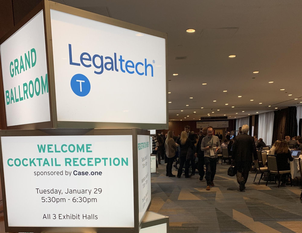- If you didn't brave the polar vortex last week for LegalWeek 2019, or maybe you're still on a runway that's just finally thawed, we went, we froze, and we've got the highlights for you.