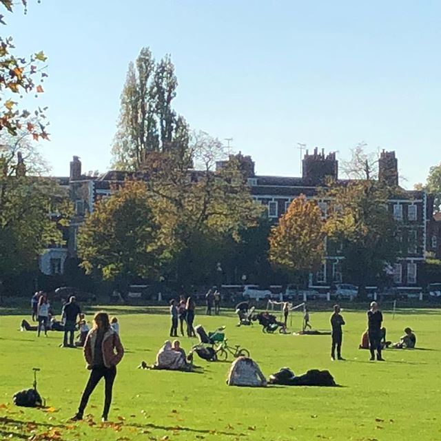 Loving my new neighbourhood #richmondgreen #sunnydays ☀️