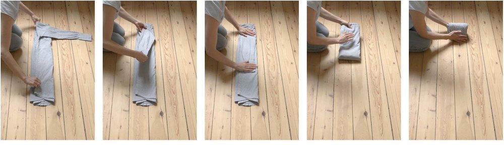 Ik werk volgens de Marie Kondo methode, ontwikkeld door de Japanse Marie Kondo. Zij is auteur van de bestsellers 'The magic of tidying up' en 'Spark Joy'.