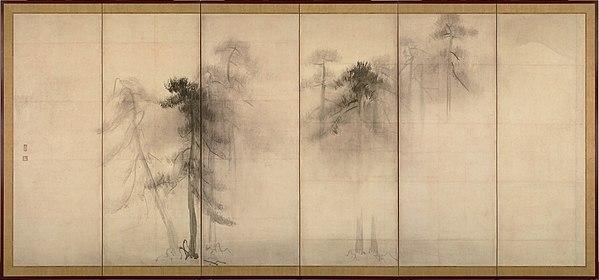 Pine Trees | 16de eeuw | Tohaku