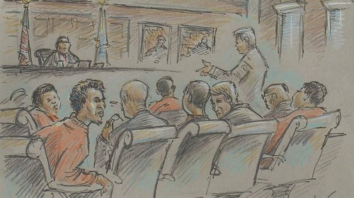 Twenty-year-old Abdirizak Mohamed Warsame entered his plea at a hearing Thursday in U.S. District Court, Feb. 11.