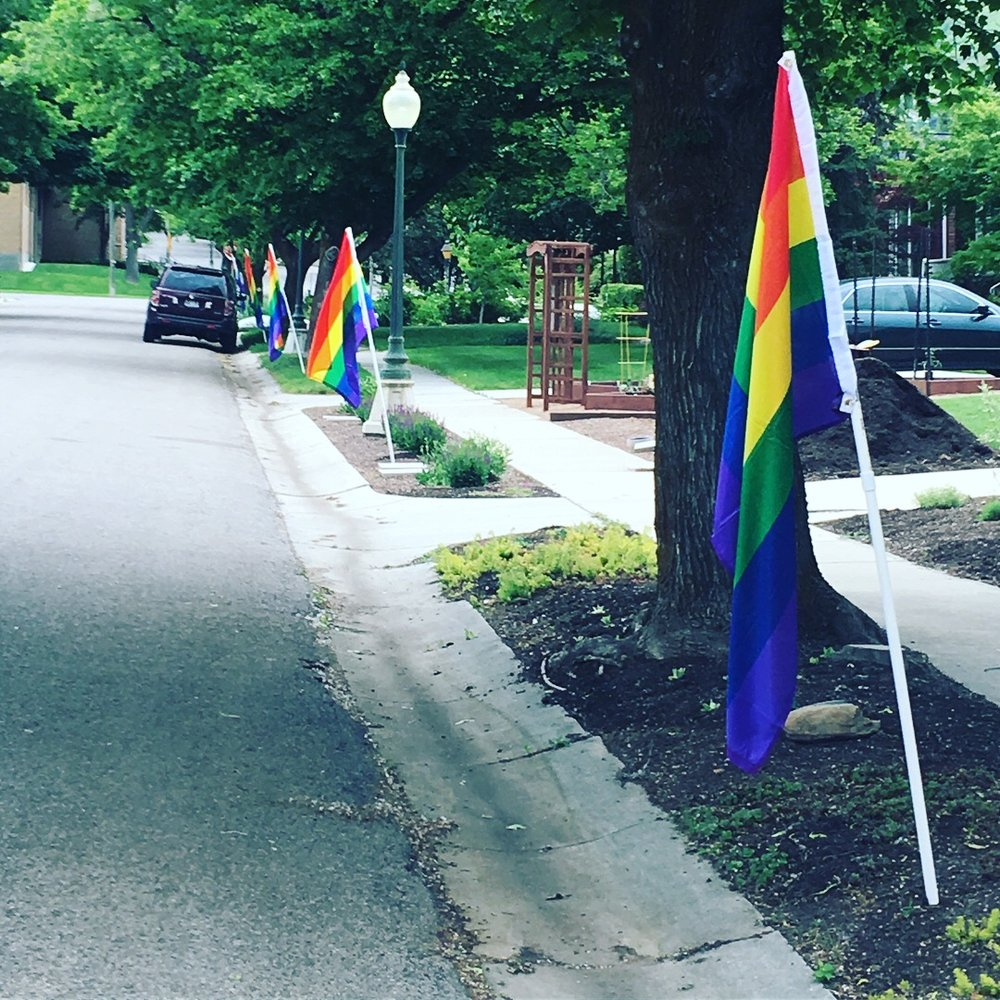 SLC Pride was a Success! - During the week of SLC Pride, 527 people across the Wasatch From signed up for rainbow flags to raise nearly $7,000 for the Utah Pride Center! Thank you to everyone who participated!