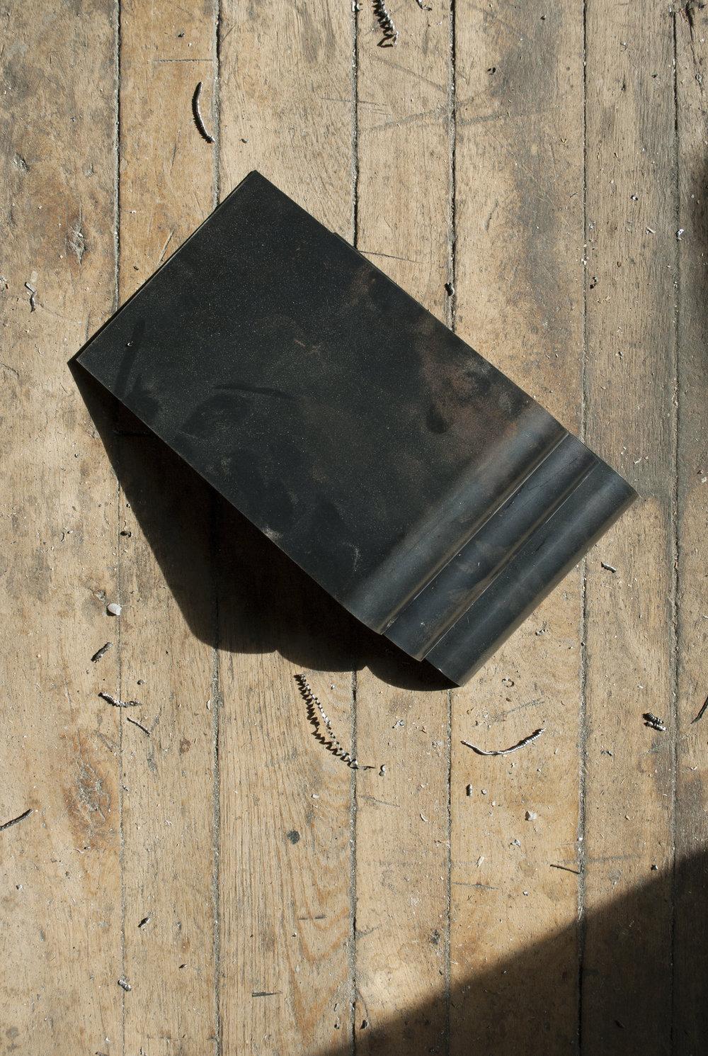 Pliage métal // Étude de forme