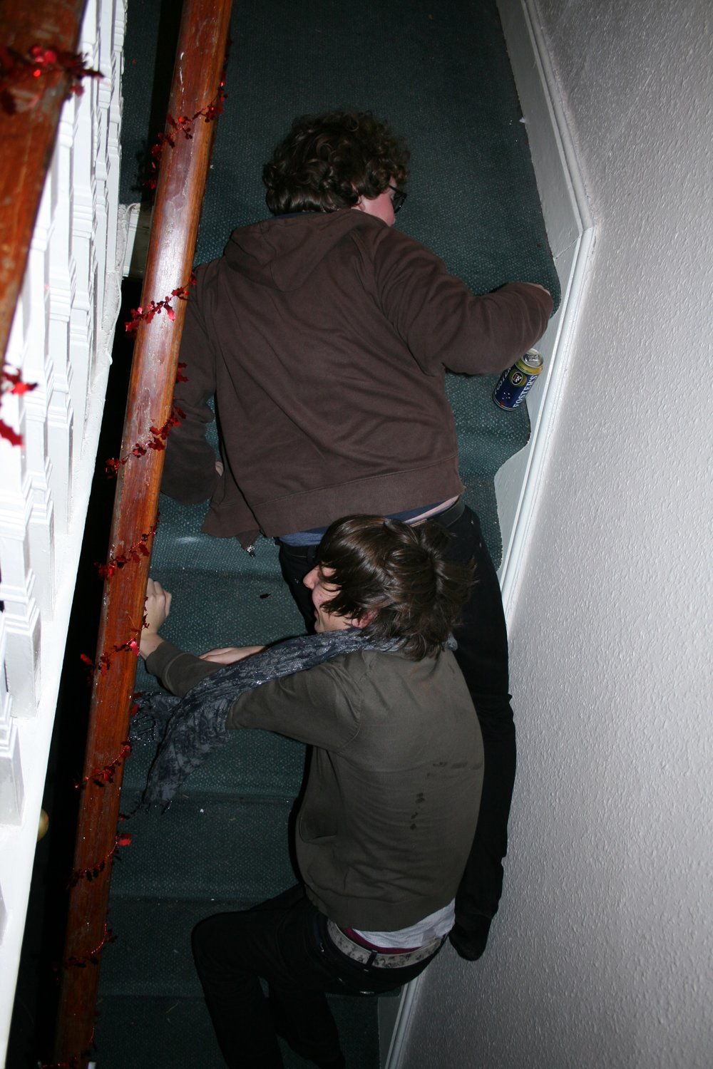 Paul playing the stairs (2008)